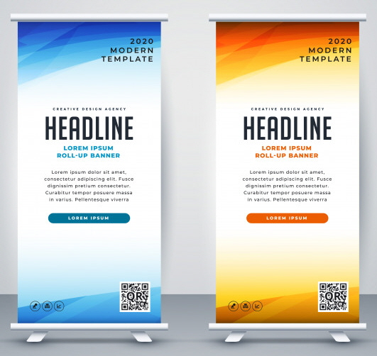retractable - pull up banner